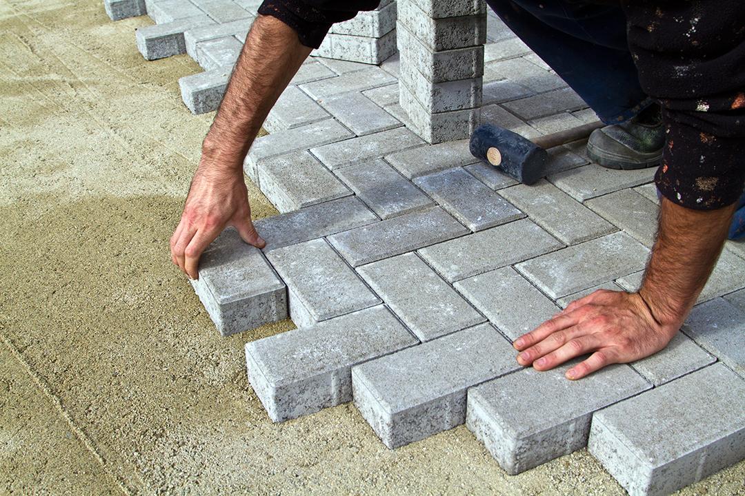 Block paving in Stoke on trent