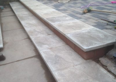 Paving in newcastle under lyme