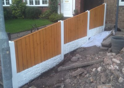Fencing in stoke on trent